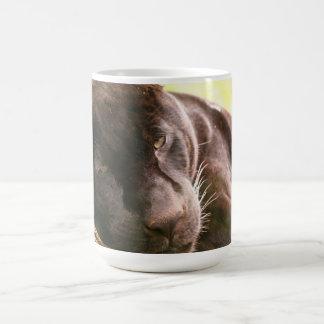 Black Jaguar Basic White Mug