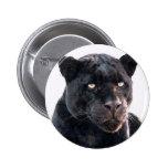 Black Jaguar Pinback Button