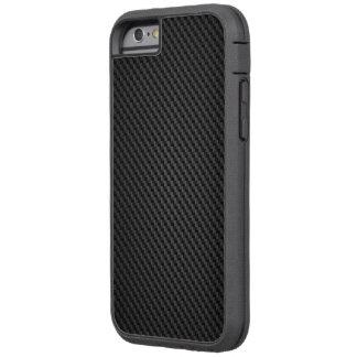 Black Kevlar para-aramid synthetic fibre Texture Tough Xtreme iPhone 6 Case