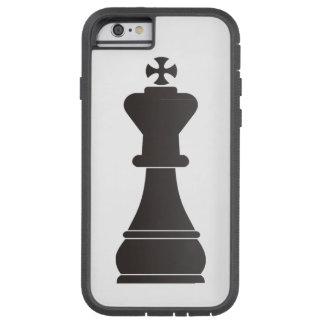 Black king chess piece tough xtreme iPhone 6 case