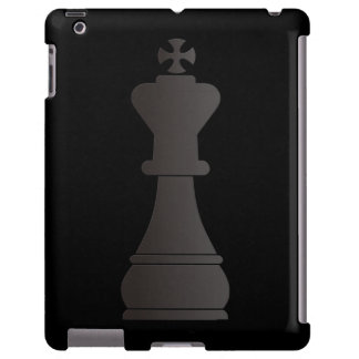 Black king chess piece