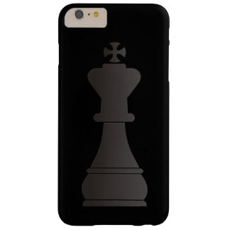 Black king chess piece barely there iPhone 6 plus case