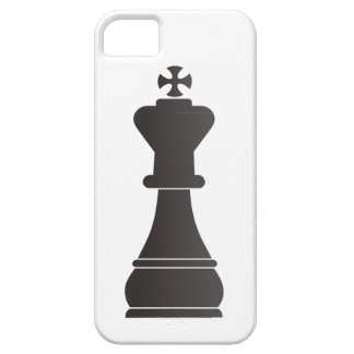 Black king chess piece case for the iPhone 5