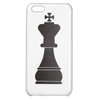 Black king chess piece cover for iPhone 5C