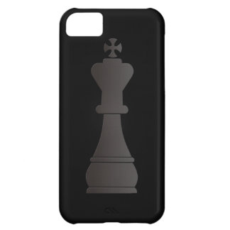 Black king chess piece iPhone 5C case