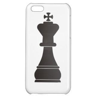 Black king chess piece iPhone 5C case