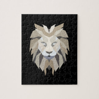 Black King Lion Jigsaw Puzzle