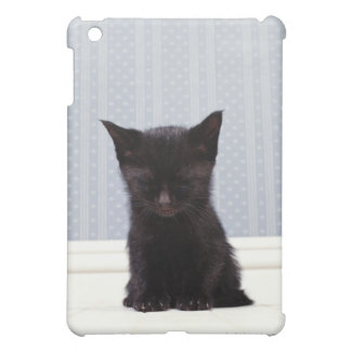 BLACK KITTEN SLEEPING COVER FOR THE iPad MINI