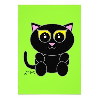 Black Kitty Invite