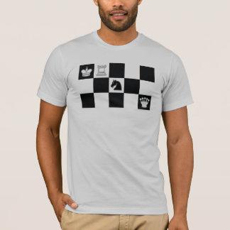 Black Knight Check T-Shirt
