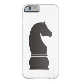 Black knight chess piece barely there iPhone 6 case