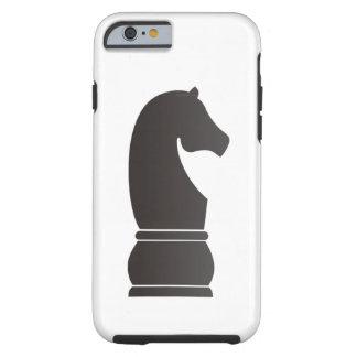 Black knight chess piece tough iPhone 6 case
