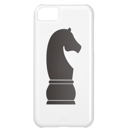 Black knight chess piece iPhone 5C cover