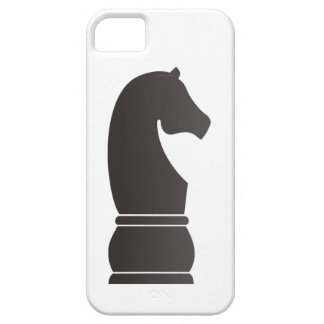Black knight chess piece iPhone 5 cases