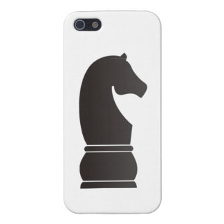 Black knight chess piece iPhone 5 case