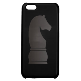 Black knight chess piece iPhone 5C covers