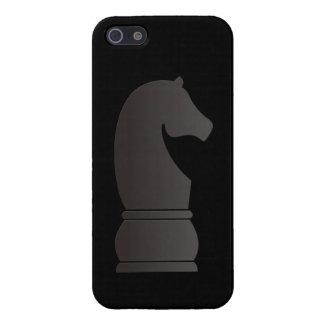 Black knight chess piece iPhone 5/5S case