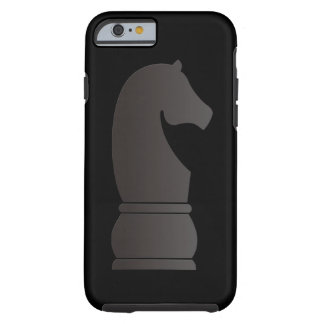 Black knight chess piece tough iPhone 6 case