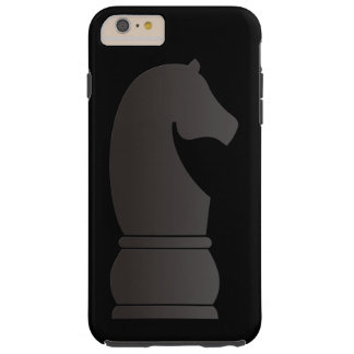 Black knight chess piece tough iPhone 6 plus case