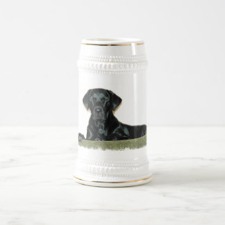 Black Lab Beer Stein