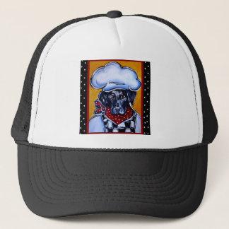Black Lab Chef Trucker Hat