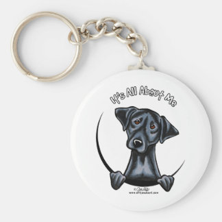 Black Lab Its All About Me Key Chains