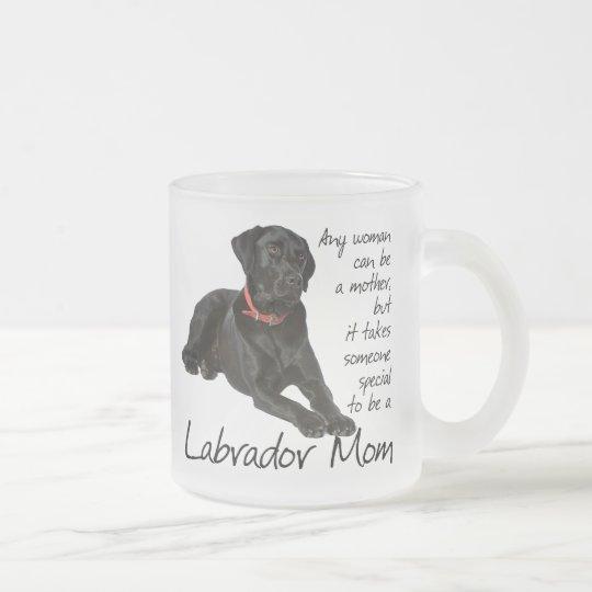 Black Lab Mum Mug