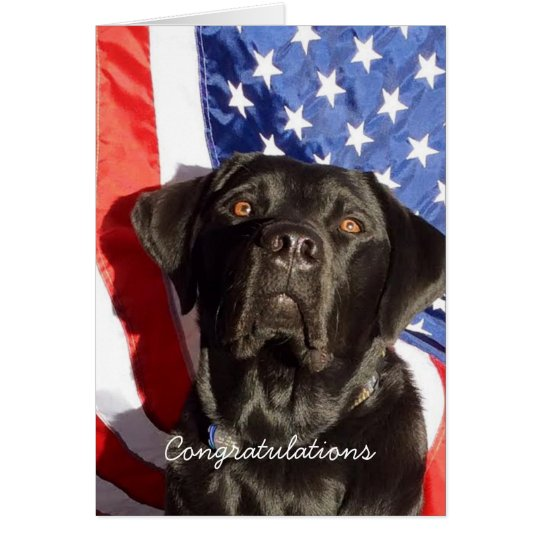 Black Lab New Citizen Card