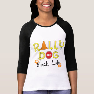 Black Lab Rally Dog T-Shirt