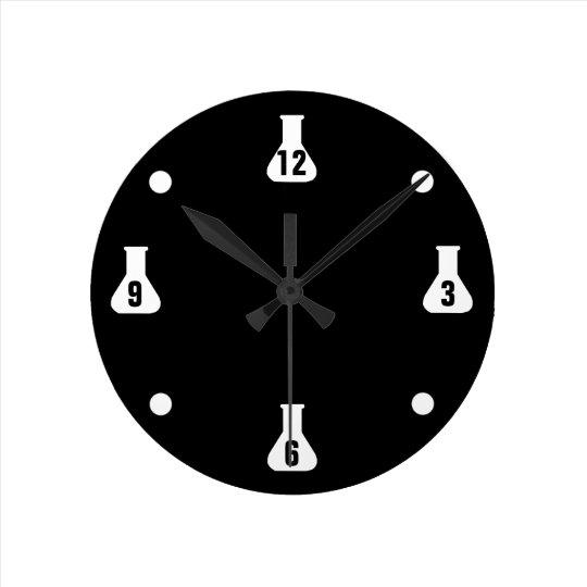 Black Lab Rat Wall Clocks