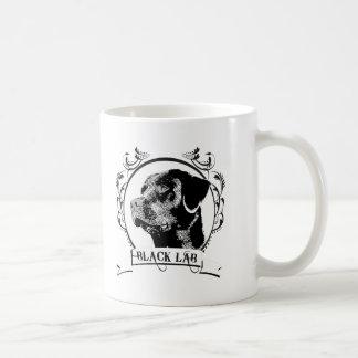 Black Lab T-shirt Mugs
