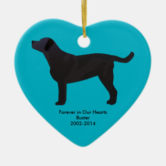 Black Lab Templates Ready to Customize Christmas Ornament