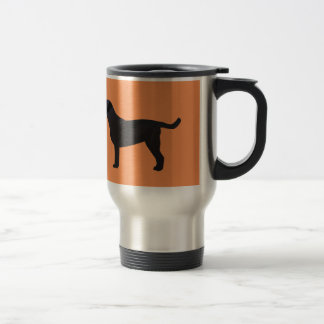 Black Lab Templates Ready to Customize Travel Mug