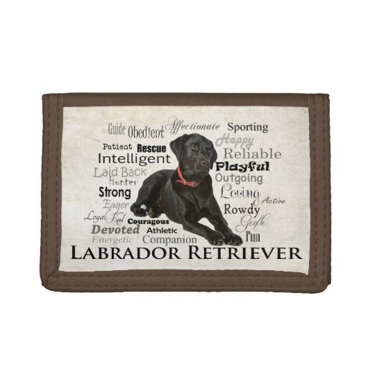 Black Lab Traits Wallet