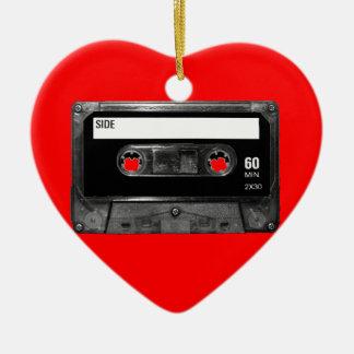 Black Label Cassette Christmas Tree Ornament