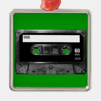 Black Label Cassette Ornament