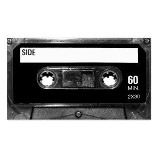 Black Label Cassette Pack Of Standard Business Cards