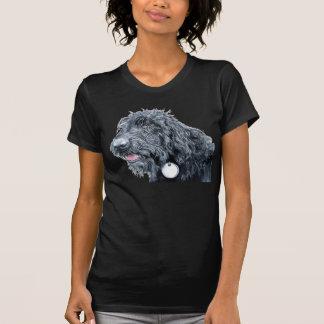 Black Labradoodle T-shirt