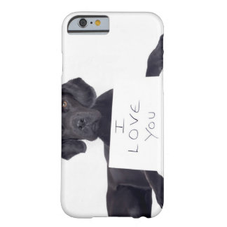 Black Labrador 13 Months Barely There iPhone 6 Case