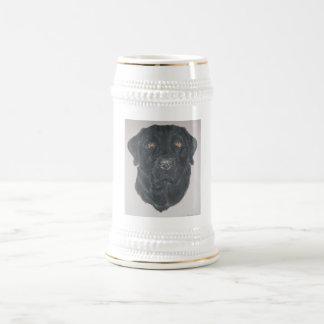 Black Labrador Beer Stein