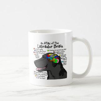 Black Labrador Brain Atlas Basic White Mug