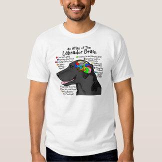 Black Labrador Brain Atlas Shirt