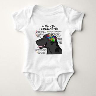 Black Labrador Brain Atlas T Shirts