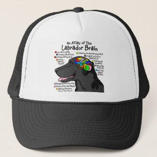 Black Labrador Brain Atlas Trucker Hat