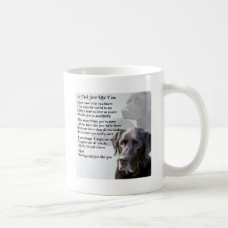 Black Labrador  Dad Poem Coffee Mug