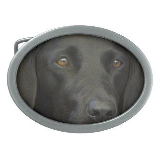 Black Labrador Dog Belt Buckles