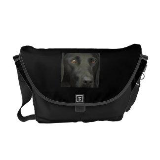 Black Labrador Dog Commuter Bag