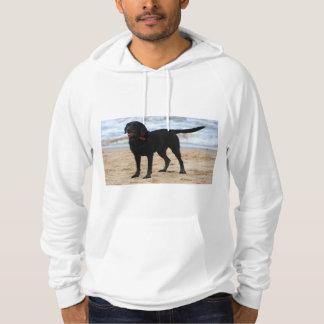 Black Labrador Dog Hoodie