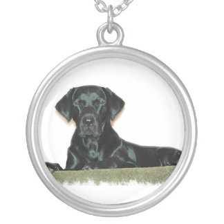 Black Labrador Dog Necklace