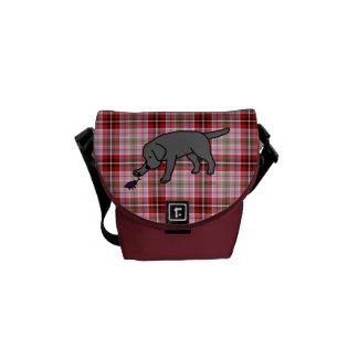 Black Labrador Friendly Messenger Bags